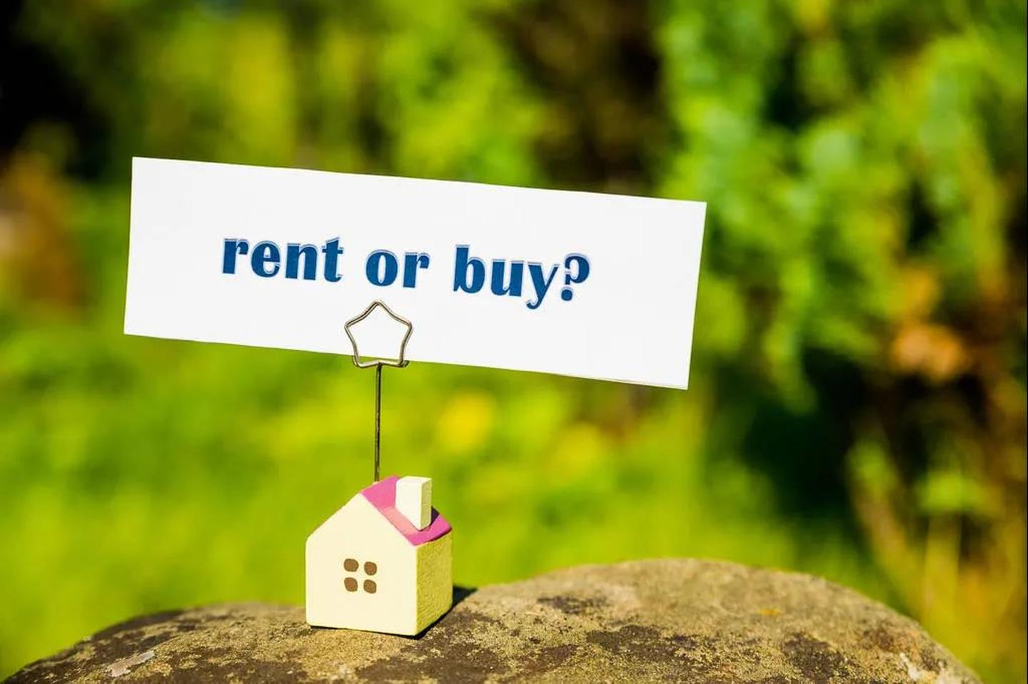 Buying a Home Versus Renting